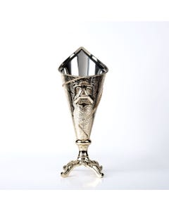 Al Qurashi Incense Burner Silver Color in Saudi Arabia